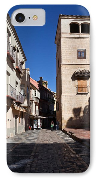Calle San Agustn,malaga City IPhone Case by Panoramic Images