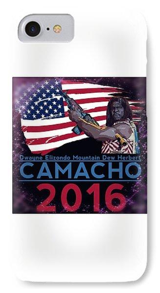 Camacho 2016 IPhone Case by Laura Michelle Corbin
