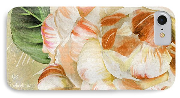 Camellia II IPhone Case by Mindy Sommers