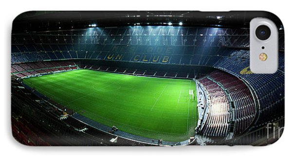 Camp Nou At Night Phone Case by Agusti Pardo Rossello