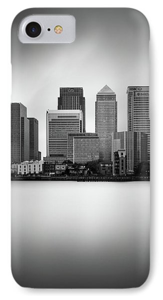 Canary Wharf II, London IPhone 7 Case by Ivo Kerssemakers