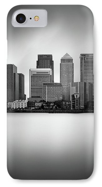 Canary Wharf II, London IPhone Case by Ivo Kerssemakers
