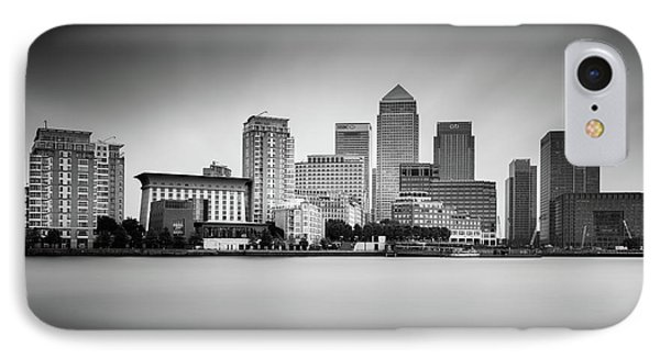 Canary Wharf, London IPhone 7 Case by Ivo Kerssemakers