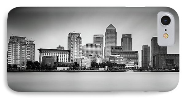 Canary Wharf, London IPhone Case by Ivo Kerssemakers