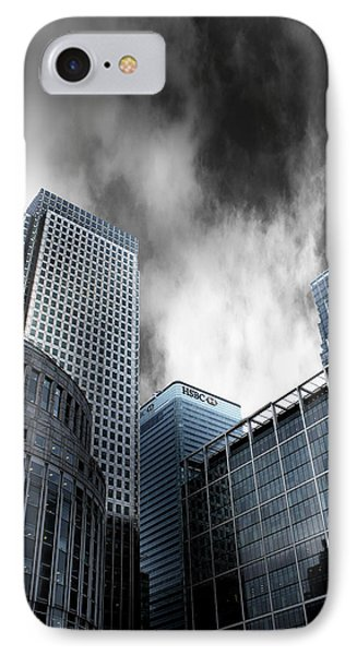 Canary Wharf IPhone Case by Martin Newman