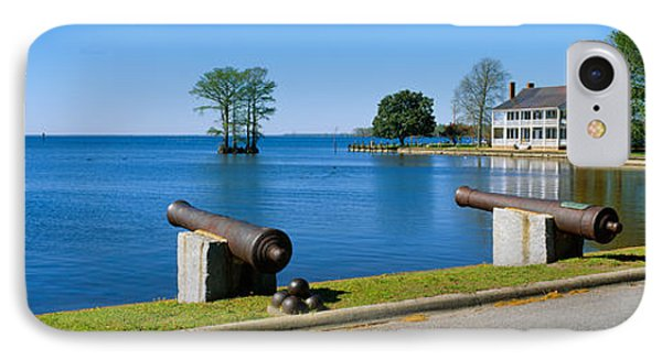 Cannons And Barker House From 1762 IPhone Case by Panoramic Images