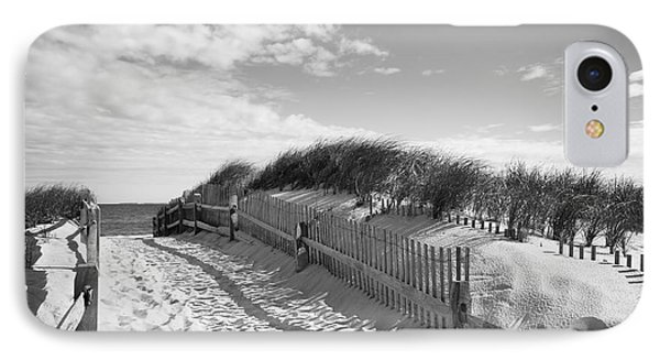 Cape Cod Beach Entry IPhone Case by Mircea Costina Photography