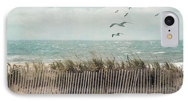 Cape Cod Beach Scene IPhone Case by Juli Scalzi