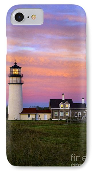 Cape Cod Light Truro Phone Case by John Greim