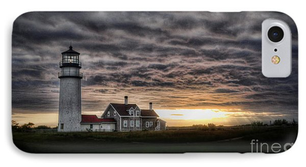 Cape Cod Lighthouse IPhone Case by TK Goforth