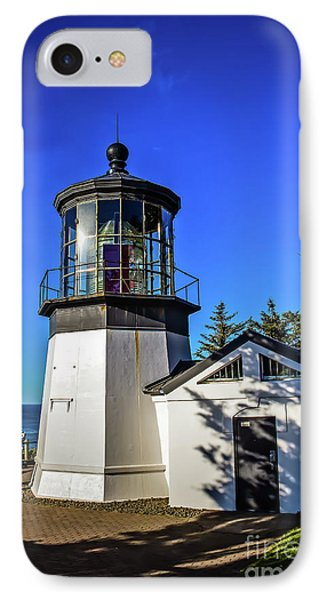 Cape Meares Lighthouse Phone Case by Jon Burch Photography