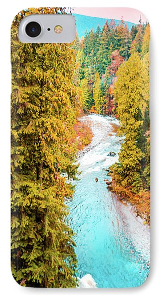 Capilano River, Vancouver Bc, Canada IPhone Case by Art Spectrum