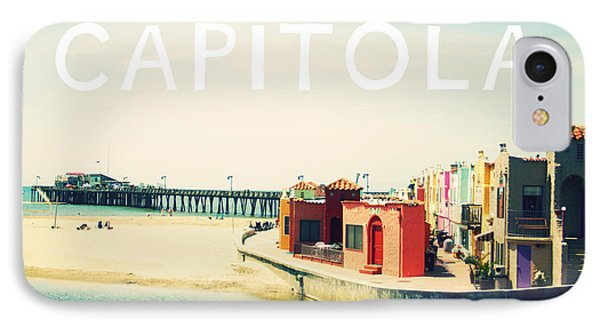 Capitola IPhone Case by Linda Woods