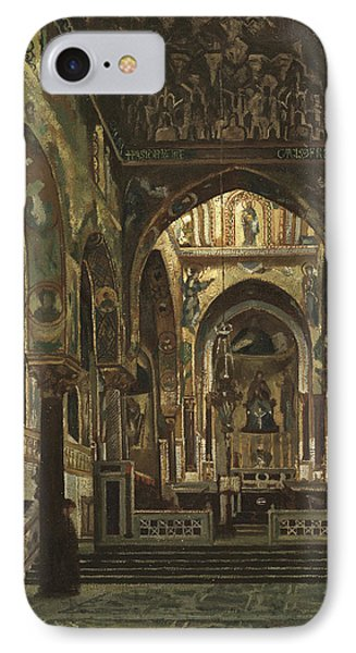 Cappella Palatina, Palermo  IPhone Case by Frederic Leighton