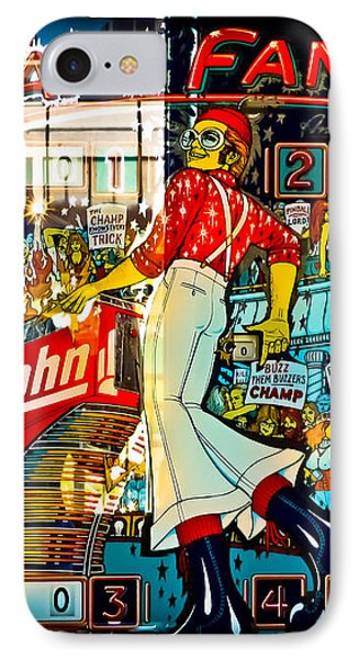 Captain Fantastic - Pinball IPhone 7 Case by Colleen Kammerer