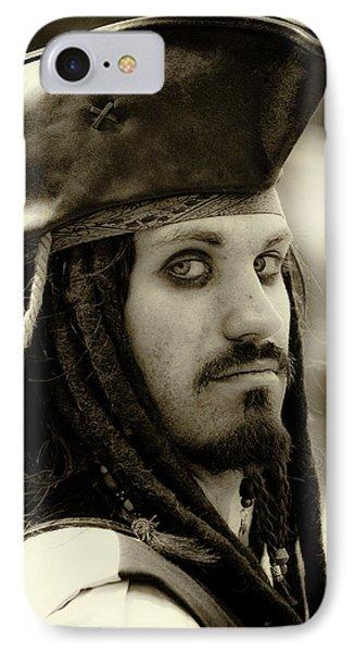 Captain Jack Sparrow Phone Case by David Patterson