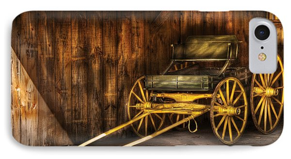 Car - Wagon - The Old Wagon Phone Case by Mike Savad