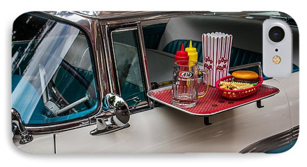 Car Hop IPhone Case by Perry Webster