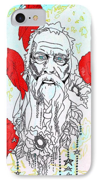 Cardinal Frost IPhone Case by Amy Sorrell