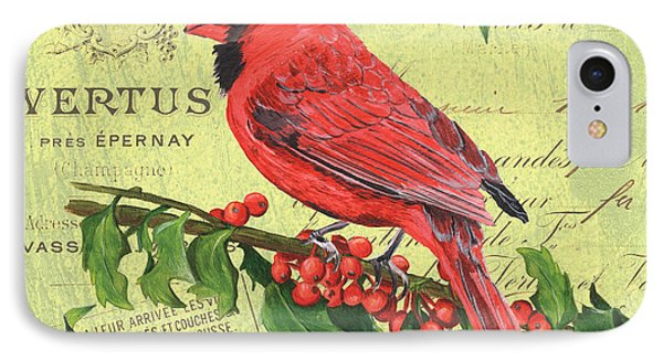 Cardinal Peace IPhone Case by Debbie DeWitt