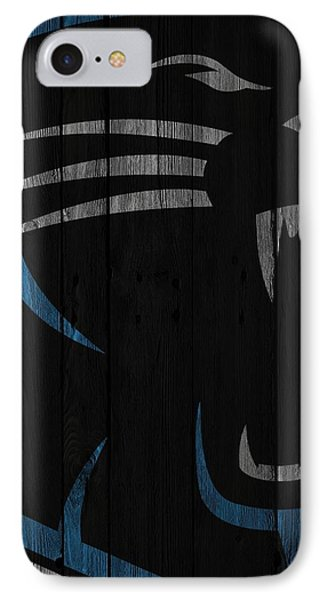 Caroilina Panthers Wood Fence IPhone Case by Joe Hamilton