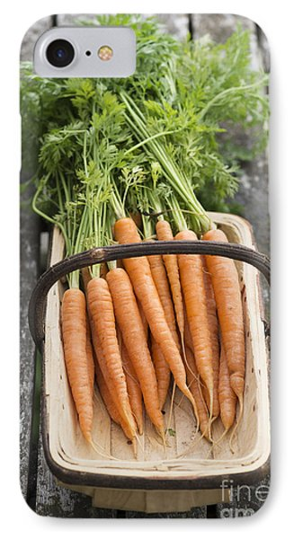 Carrots IPhone 7 Case by Tim Gainey