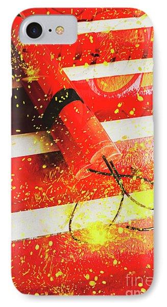Cartoon Bomb IPhone Case by Jorgo Photography - Wall Art Gallery