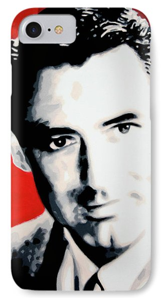 Cary Grant IPhone Case by Luis Ludzska
