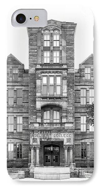 Case Western Reserve University Adelbert Hall Phone Case by University Icons