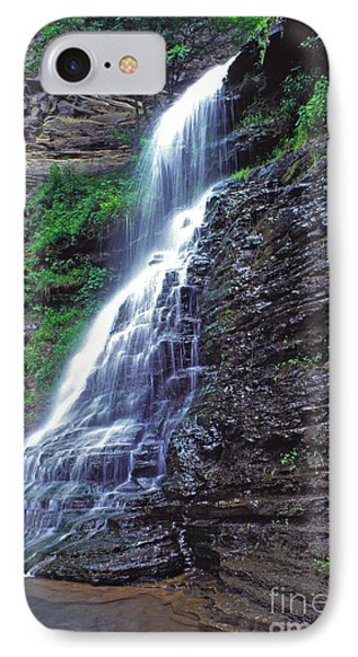 Cathedral Falls In Spring Phone Case by Thomas R Fletcher