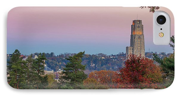 Cathedral Of Learning Phone Case by Emmanuel Panagiotakis