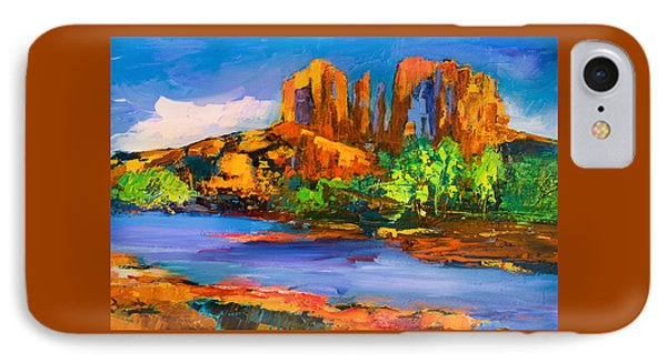 Cathedral Rock Afternoon IPhone Case by Elise Palmigiani