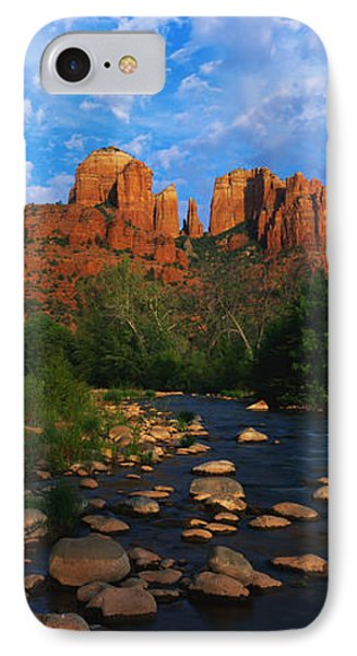 Cathedral Rock Oak Creek Red Rock IPhone Case by Panoramic Images