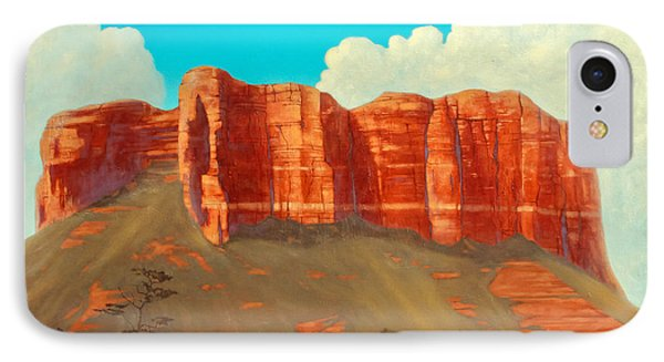 Cathedral Rock, Sedona, Arizona IPhone Case by James Zeger
