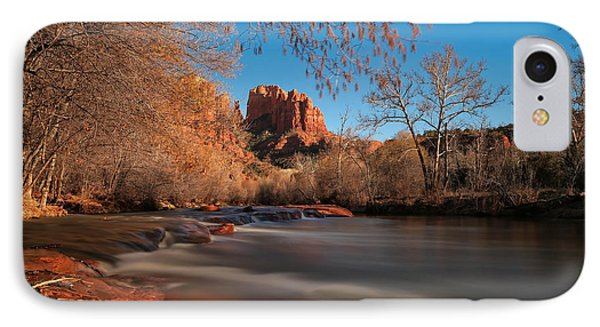 Cathedral Rock Sedona Arizona IPhone Case by Larry Marshall