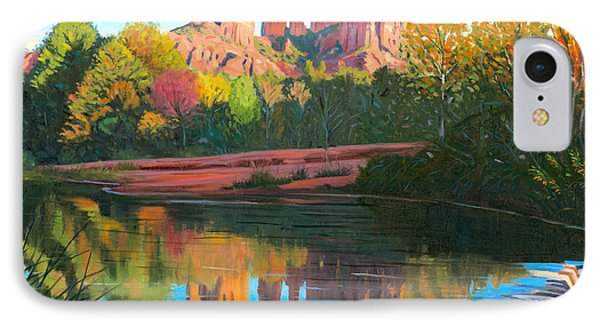 Cathedral Rock - Sedona IPhone Case by Steve Simon