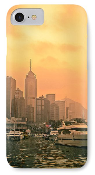 Causeway Bay At Sunset Phone Case by Loriental Photography