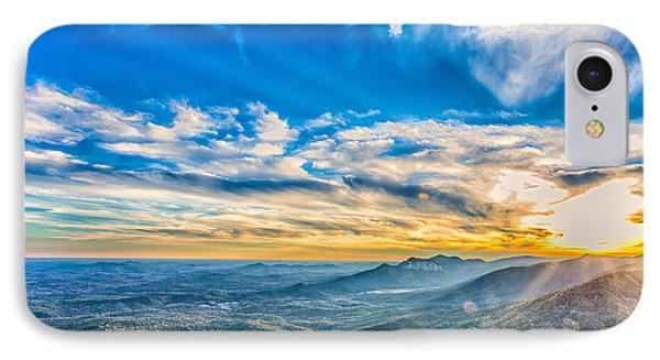 Caesar's Head State Park 1 IPhone Case by Gestalt Imagery