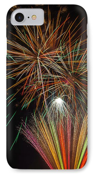 Celebration Fireworks IPhone Case by Garry Gay