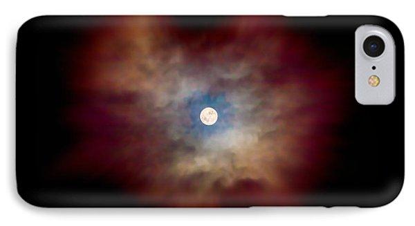 Celestial Moon IPhone Case by Az Jackson