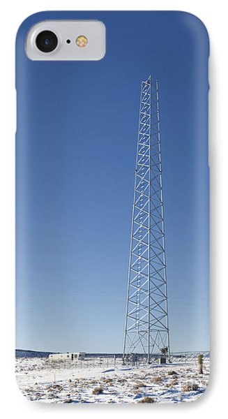 Cellphone Tower Phone Case by David Buffington