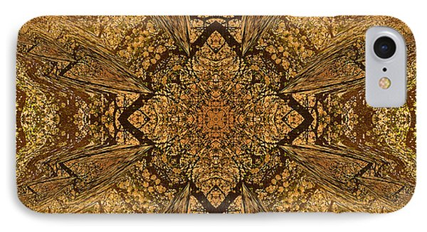 Celtic Mandala Abstract IPhone Case by Georgiana Romanovna