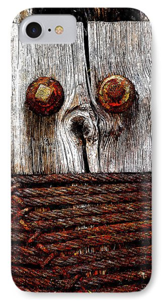 Censorship 2 IPhone Case by Rick Mosher