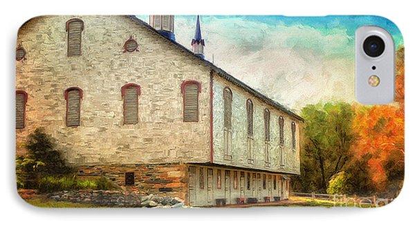 Centennial Barn IPhone Case by Lois Bryan