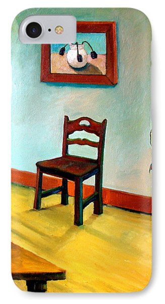 Chair And Pears Interior IPhone Case by Michelle Calkins