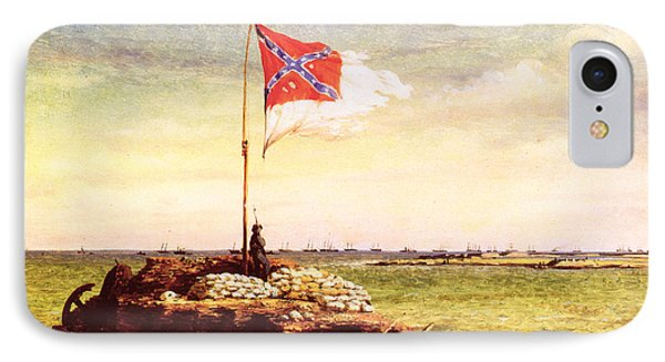 Chapman Fort Sumter Flag IPhone Case by Granger