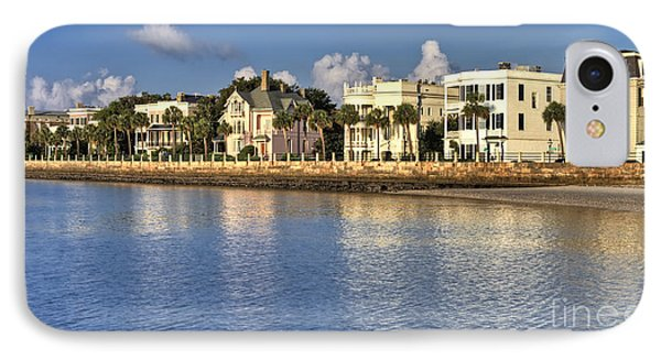 Charleston Battery Row South Carolina  IPhone Case by Dustin K Ryan
