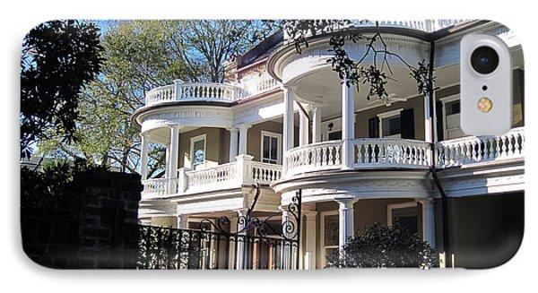 Charlestons Beautiful Architecure IPhone Case by Susanne Van Hulst