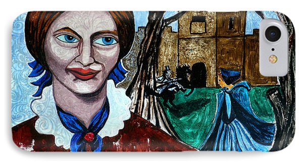 Charlotte Bronte's Jane Eyre II IPhone Case by Genevieve Esson