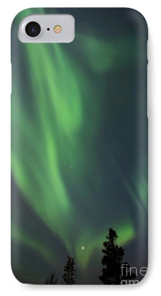 chasing lights II natural Phone Case by Priska Wettstein